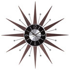 Satellite Wall Clock 23 Quot Midcentury Wall Clocks By