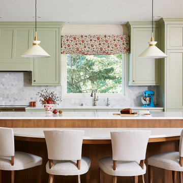 A Soft Green, Open Concept in Plymouth