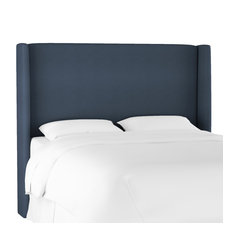 Maxwell Queen Wingback Headboard Mystere Eclipse