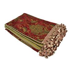 Sherry Kline China Art Red Throw Blanket