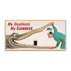 "Guinness Brewery 'My Goodness My Guinness XVI' Canvas Art, 10""x19"""