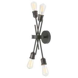 Industrial Wall Sconces by HedgeApple