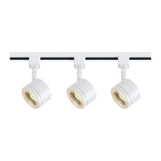 Track Lighting Kit 12 Watt LED - 3000K - 36 Deg. - Round Shape - White