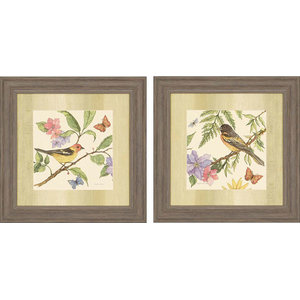 Paragon Animals Casual Flora and Fauna I Pack of 2 Wall Art