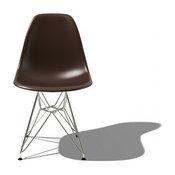 Eames Molded Plastic Side Chair w/Eiffel Base | YLiving