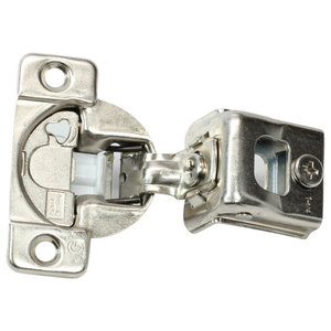 "25x 105 Deg 5//16/"" Overlay soft close Press in Compact Cabinet Hinge 38N358B.05"