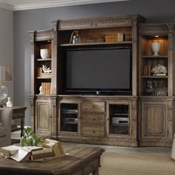 Traditional Entertainment Centers And Tv Stands by Hooker Furniture