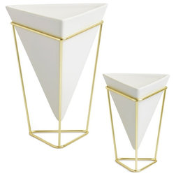Contemporary Indoor Pots And Planters by Bifoli LLC
