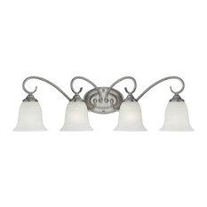 Millennium Lighting 1184 4 Light Bathroom Vanity Light - Nickel