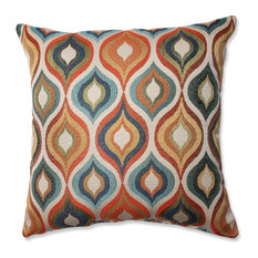 Pillow Perfect Inc   Pillow Perfect Flicker Jewel Throw Pillow, 16.5 Inch    Decorative