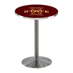 Iowa State Pub Table 28-inchx36-inch by Holland Bar Stool Company