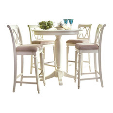 Glass Counter Height Dining Table