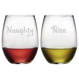 Contemporary Wine Glasses by Susquehanna Glass Company
