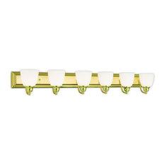Livex Lighting 10506-02 Springfield Vanity Light, Polished Brass