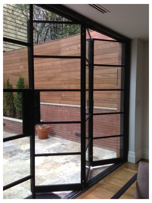 Crittal Style Aluminium Sliding Or Folding Doors