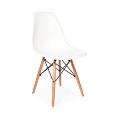 Charmant Mid Century Retro DSW Wooden Dowel Chair, White. Eames Reproduction Chair