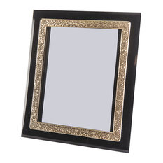 Black and Gold Photo Frame, 20x25 cm