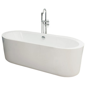 Oleron Freestanding Oval Bath