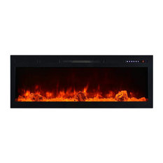 """Modern Flames Spectrum Series 74"""" Linear Built-in Electric Fireplace"""