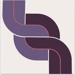 """Graphilia - """"Braid"""" Original 1975 Artwork by Bob Ross - Original 1975 serigraph by Bob Ross."""