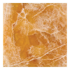 """12""""x12"""" Brown Onyx Tile Polished and Beveled"""