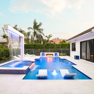 Custom Pool and Backyard in Boca Raton