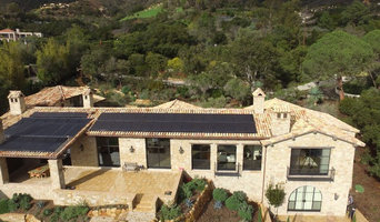 Solar Panels Integrated into Spanish Tile Roof
