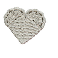 Sinko Corp. - Toockies Organic Cotton Loving Heart Pot Holder - Oven Mitts and Pot Holders