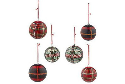 Modern Christmas Ornaments by Valorie Hart