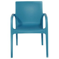Contemporary Outdoor Dining Chairs by Strata Furniture