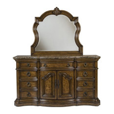 Pulaski Furniture San Mateo Dresser with Mirror
