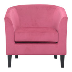 Emerald Home Middleton Accent Chair, Dusty Rose