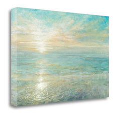 """""""Sunrise"""" By Danhui Nai, Giclee Print on Gallery Wrap Canvas, Ready to Hang"""