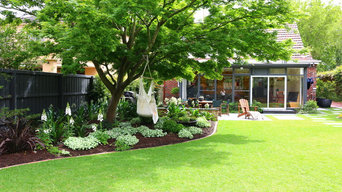 An outdoor space fit for showcase...