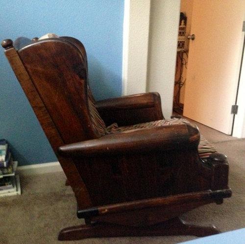 Wooden Rocker Chair