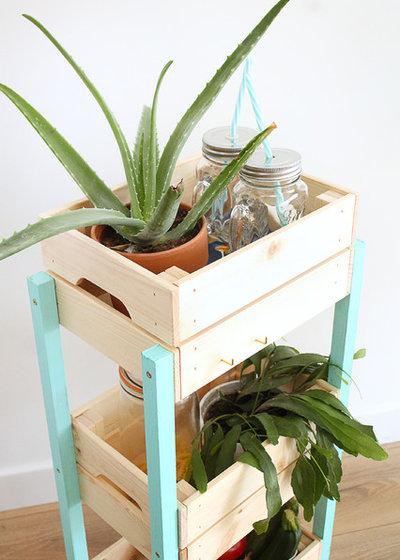 diy einen servierwagen bauen ikea hack aus knagglig k sten. Black Bedroom Furniture Sets. Home Design Ideas