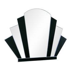 Gatsby Original Handcrafted Art Deco Fan Wall Mirror, 60x80 cm