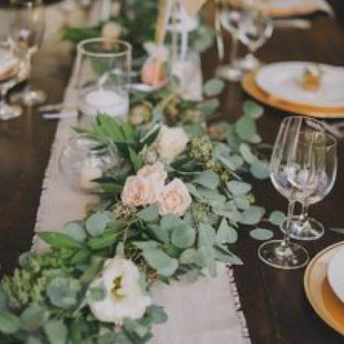Mariage fleuri et vintage
