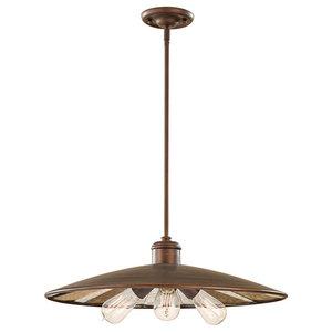 Urban Renewal 3-Light Pendant Lamp