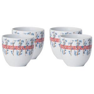 Kasuri Bamboo Coffee Cup, Set of 4