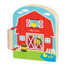 Original Toy Kids Children Original First Book- My Farm- 6 Books