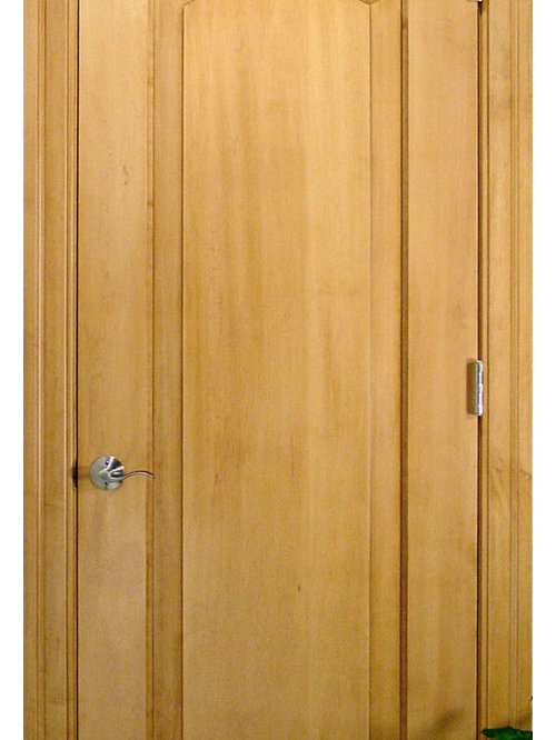Homestead Doors Inc Arch 1 Panel Solid Wood Maple Door Interior