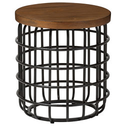Industrial Side Tables And End Tables by Baxton Studio