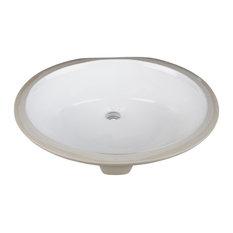 Undermount Porcelain Sink Basin