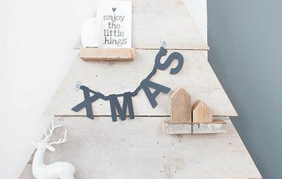 Natürlich stimmungsvoll: 11 Ideen für Weihnachtsdeko aus Holz