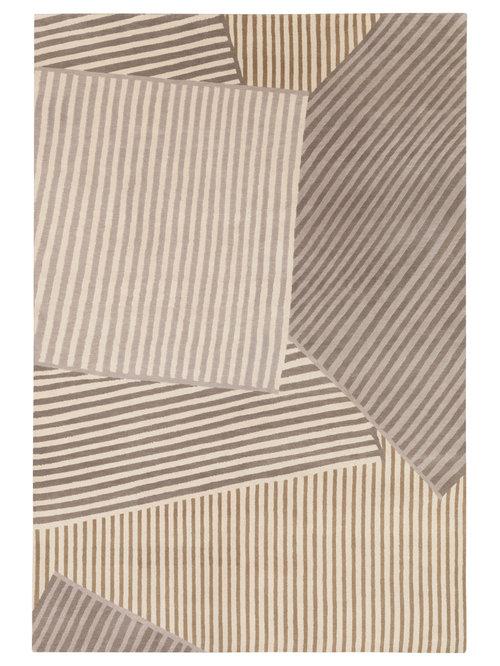 Geometric rugs for 16th floor paul kelly