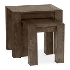 MOD - Tyler Dark Oak Nesting Tables, 2-Piece Set - Side Tables and End Tables