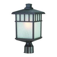 Dolan Designs 9116-34 Barton Outdoor Post Mount Light In Olde World Iron