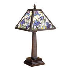 "19""H Mosaic Iris Accent Lamp"