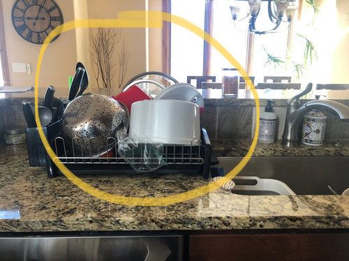 Any Solutions For Dish Drying Area Near Sink